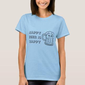 het bier, Gelukkig Bier is Gelukkig T Shirt