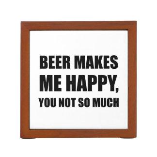 Het bier Gelukkig maakt me u niet zo veel Grappige Pennenhouder