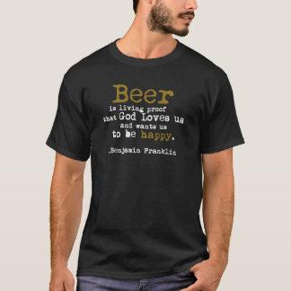 Het Bier van Benjamin Franklin T Shirt