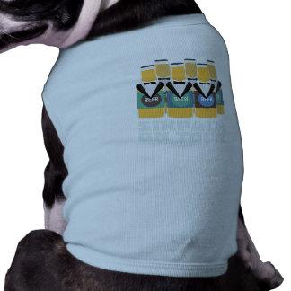 Het Bier van Sixpack op Reis Zn1pu Shirt