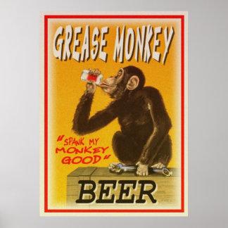 het bierposter van de vetaap poster