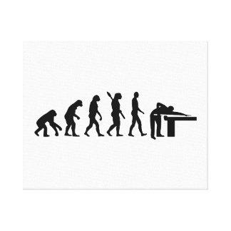 Het Biljart van de evolutie Canvas Prints