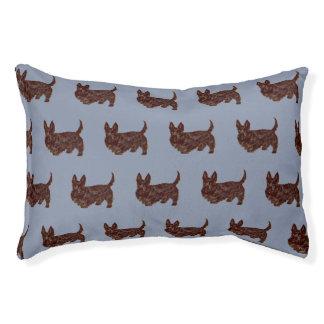 Het binnen Bed van de Hond - Klein, Schots Terrier Hondenbedden
