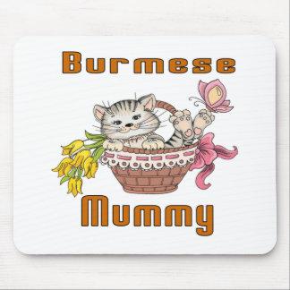 Het Birmaanse Mamma van de Kat Muismat