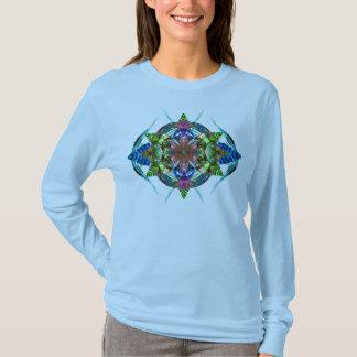 Het Blad Mandala 6 van de herfst T Shirt