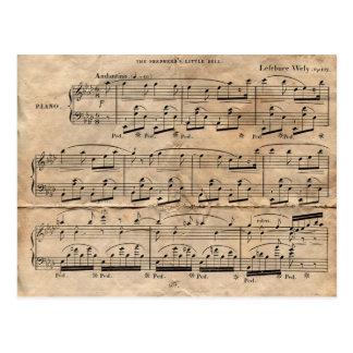 Het Blad van de muziek Briefkaart