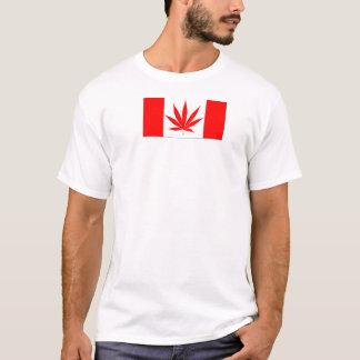 Het Blad van de Pot van Canada - Route420 T Shirt