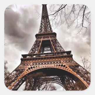 Het Blad van de Sticker van de Toren van Eiffel