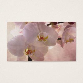 Het Bladwijzer van de orchidee Visitekaartjes