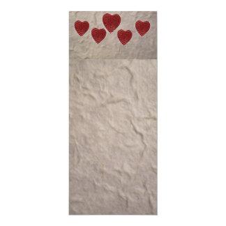 Het Bladwijzer van het Hart van de liefde Kaart