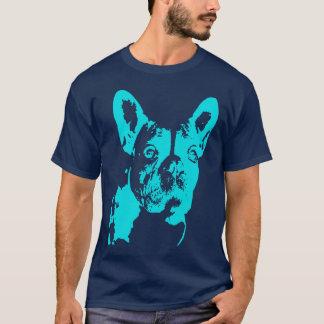 Het blauw intimideert t shirt