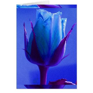 Het blauw nam Klantgerichte Kaart I van de Verrukk
