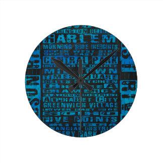 Het Blauw van Buurten NYC Ronde Klok