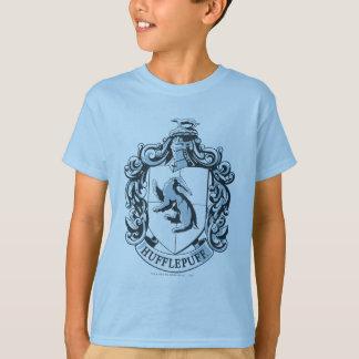 Het Blauw van CREST van Hufflepuff T Shirt