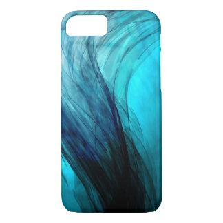 Het Blauw van de golf - het Hoesje van iPhone van