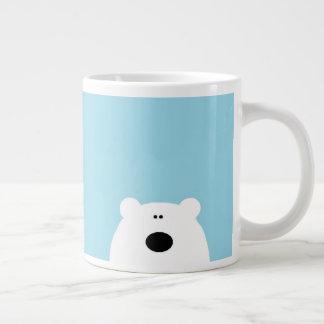 Het Blauw van de Ijsbeer Grote Koffiekop