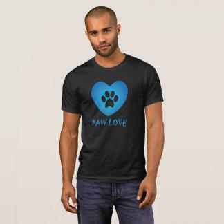 Het Blauw van de Liefde van de poot T Shirt