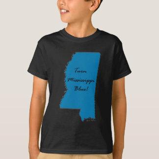 Het Blauw van de Mississippi van de draai! T Shirt