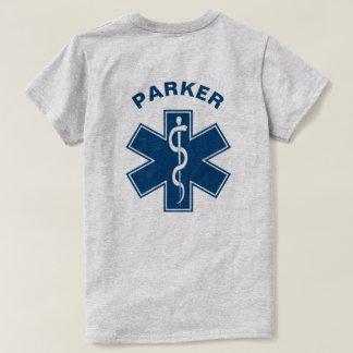 Het Blauw van de Paramedicus van EMT EMS T Shirt