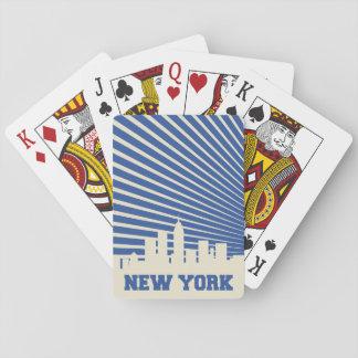 Het Blauw van de Stad van New York Speelkaarten