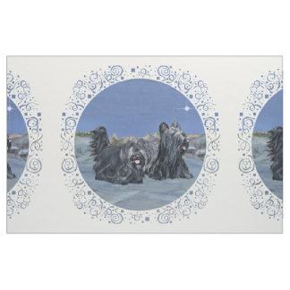 Het Blauw van de Winter van Terriers van Skye Stof