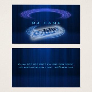 Het Blauw van DJ Visitekaartjes