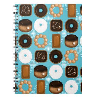 Het Blauw van Donuts Notitieboek