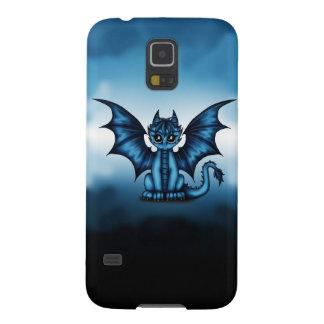 Het blauw van Dragonbaby Galaxy S5 Hoesje