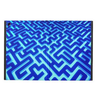Het Blauw van het labyrint iPad Air Hoesje