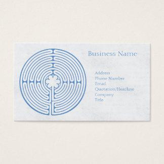 Het Blauw van het Labyrint van Chartres Visitekaartjes