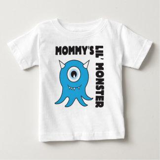 Het blauw van het Monster van Mommys lil Baby T Shirts