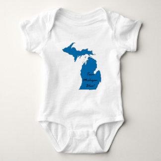 Het Blauw van Michigan van de draai! Democratische Romper