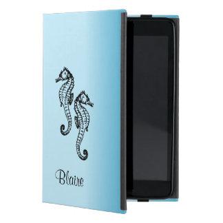 Het Blauw van Seahorse iPad Mini Hoesje