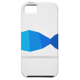 Het blauw van vissen tough iPhone 5 hoesje