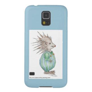 Het Blauwe Accent van Henry Hedgehog Samsung S5 Galaxy S5 Hoesje