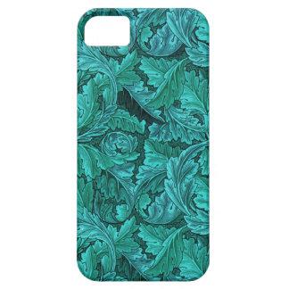 Het Blauwe Blad van William Morris Barely There iPhone 5 Hoesje