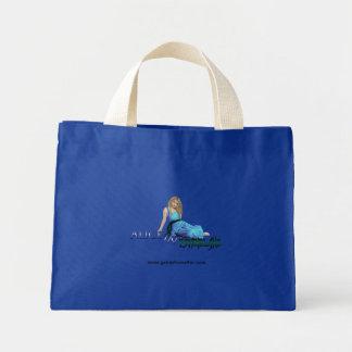 Het blauwe bolsa van Alice Mini Draagtas