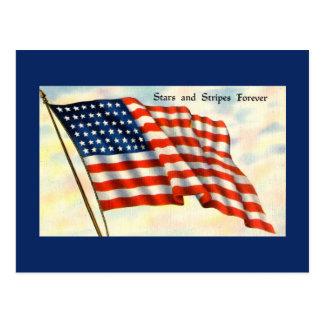 Het blauwe Briefkaart van de Dag van de
