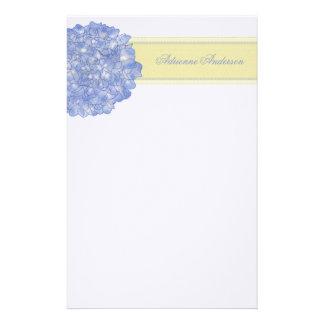 Het blauwe Briefpapier van de Kunst van de