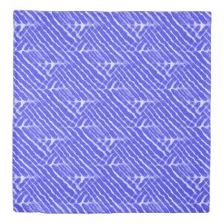 Het blauwe Canvas van de Strepen van de Tijger