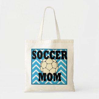 Het blauwe en Witte Canvas tas van het Mamma van