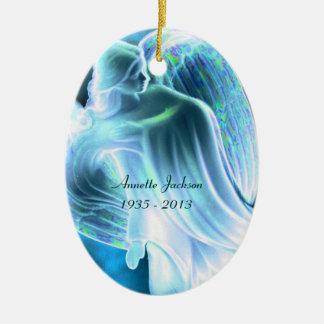 Het blauwe Gedenkteken van de Engel - Ornament