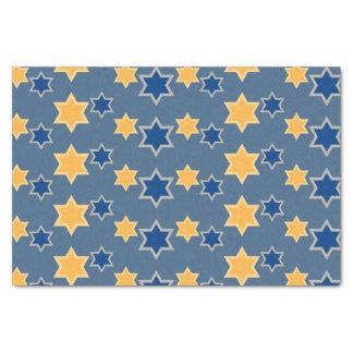 Het Blauwe Gouden Papieren zakdoekje van de 25,4 X 38,1 Cm Zijdepapier