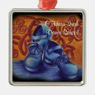 Het blauwe Harde Ornament van Schoenen