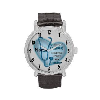Het Blauwe Hart van de dokter Horloge