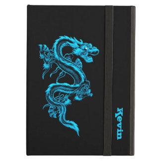 Het blauwe Hoesje van de Lucht van de Douane van d iPad Air Hoesje