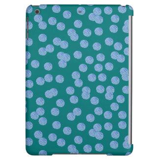 Het blauwe Hoesje van de Lucht van iPad van