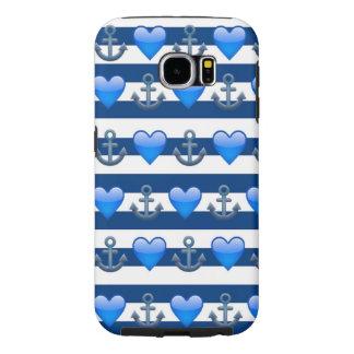 Het blauwe Hoesje van de Melkweg van Emoji Samsung