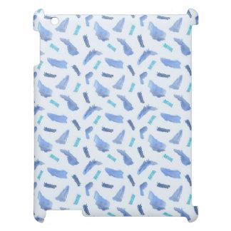 Het blauwe Hoesje van de Steen van de Vlekken van Hoesje Voor iPad