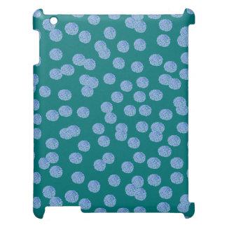 Het blauwe Hoesje van de Steen van Stippen iPad iPad Hoesje